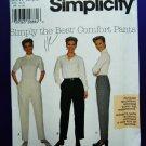 Simplicity Pattern # 7848 UNCUT Misses Pants Variations Size 14 16 18