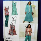 Simplicity Pattern # 3805 UNCUT Misses Jacket Top Midi Skirt Size 10 12 14 16 18