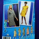 Project Runway Simplicity Pattern # 2885 Womans Pullover Dress Top Size 4 6 8 10 12