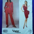 Vogue Pattern # 2870 UNCUT Misses Jacket Top Skirt Pants Size 18 20 22