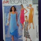 McCalls Pattern # 3231 UNCUT Misses Summer Slip Dress Size 4 6 8 10