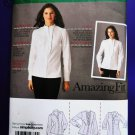 Simplicity Pattern # 2339 UNCUT Misses Shirt with Variations Size 6 8 10 12 14