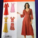 Simplicity Pattern # 3827 UNCUT Misses Womans Dress Top Skirt Size 10 12 14 16 18