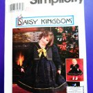 "Simplicity Pattern # 7359 UNCUT Girls Dress Vest Size 3 4 5 6 17"" Doll Dress"