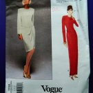 Vogue Pattern # 1708 UNCUT Misses Dress Long /Short Size 6 8 10