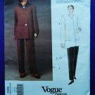 Vogue Pattern # 1486 UNCUT Misses Jacket Pants Geoffrey Beene Size 6 8 10