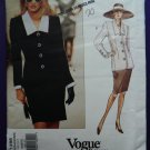 Vogue Pattern # 1298 UNCUT Misses Top Skirt GIVENCHY Size 18 20 22