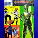 Simplicity Pattern # 8381 UNCUT Boys Girls Costume ALIEN Cowboy Size 7 8 10 12 14