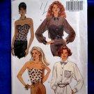 Butterick Pattern # 6545 UNCUT Misses Bustier Shirt Size 18 20 22