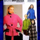 Butterick Pattern # 5254 UNCUT Misses Coat /Jacket Size 6 8 10 12