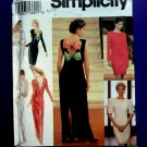 Simplicity Pattern # 8126 UNCUT Misses Formal Evening Dress Size 18 20 22
