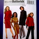 Butterick Pattern # 5259 UNCUT Misses Jacket Coat Dress Pants Size 8 10 12 14