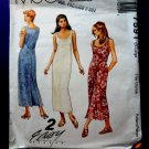 McCalls Pattern # 7591 UNCUT Misses Wrap Dress Size 20 22