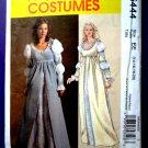 McCalls Pattern # 5444 UNCUT Misses Costume Gown Renaissance Size 14 16 18 20