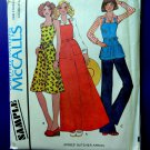Vintage 1975 McCalls Pattern UNCUT Sample Misses Butchers Apron Length Variations