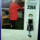 Vogue Pattern # 2264 UNCUT Girls Dress Jumper Blouse Size 4