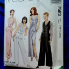 McCalls Pattern # 7952 UNCUT Misses Tuxedo Vest Pants Long Skirt Size 18 20 22