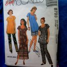 McCalls Pattern # 8793 UNCUT Dress Tunic Pants Shorts Size 20 22