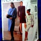 McCalls Pattern # 4523 UNCUT Misses Dress Size 20