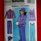 Butterick Pattern # 4335 UNCUT Girls Jacket Jumper Jumpsuit Size 6 7 8
