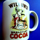 Vintage Wilburs Breakfast Cocoa Advertising Mug