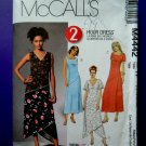 McCalls Pattern # 4442 UNCUT Misses Summer Dress Size 16 18 20 22