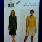 Butterick Pattern # 3576 UNCUT Misses Jacket Skirt Size 6 8 10 Ellen Tracy
