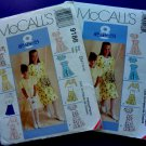 McCalls Pattern # 9186 UNCUT Girls Dress Bolero Jacket Size 7 8 10 12 14