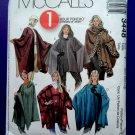 McCalls Pattern # 3448 UNCUT Misses Poncho Size Small Medium Large