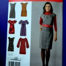 Simplicity Pattern # 2846 UNCUT Dress Sleeve Variations Size 4 6 8 10 12