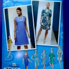 Simplicity Pattern # 2995 UNCUT Misses Dress Project Runway Size 4 6 8 10 12