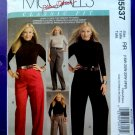 McCalls Pattern # 5537 UNCUT Misses Pants Size 18 20 22 24