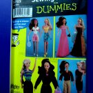 Simplicity Pattern # 5755 UNCUT Fashion Doll Clothes Wardrobe 11 ½ Doll Barbie