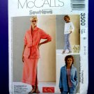 McCalls Pattern # 3500 UNCUT Misses Shirt/Jacket Pants Skirt Size 8 10 12