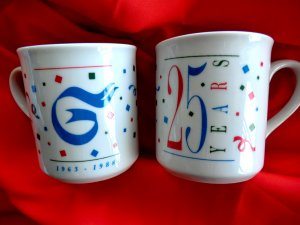 Vintage 1988 Guthrie Theater Coffee Mug Mugs 25 Years