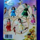 Simplicity Pattern # 0544 UNCUT Baby Toddler Girl FARY FAIRES Costume Size ½ 1 2 3 4
