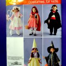 Simplicity Pattern # 0545 UNCUT Costume Baby Toddler Wizard Vampire Bo Peep Size ½ 1 2 3 4