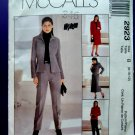 McCalls Pattern # 2923 UNCUT Misses Wardrobe Jacket Pants Skirt Size 8 10 12