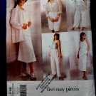 Vogue Pattern # 1798 UNCUT Womans Wardrobe Shirt Dress Top Pants Size 20 22 24