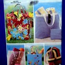 Butterick Pattern # 3562 UNCUT Totes Beach Bags