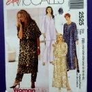 McCalls Pattern # 2525 UNCUT Womans Caftan Variations Pants Size 18 20 22 24