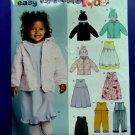 New Look Pattern # 6419 Coat Jumper Dress Hat Size ½ 1 2 3 4