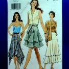 Very Easy VOGUE Pattern # 9180 UNCUT Misses Skirt Variations Size 14 16 18