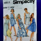 Simplicity Pattern # 7907 UNCUT Dress 3 Lengths Bicycle Pants Size Petite Small Medium