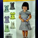 Simplicity Pattern # 3512 UNCUT Baby Toddler Dress Size ½ 1 2 3 4