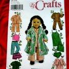 """Simplicity Pattern # 5276 UNCUT 18"""" Doll Sleepwear American Girl"""