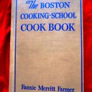 Vintage 1946 Boston Cooking School Cookbook Fannie Farmer