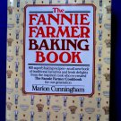 Fannie Farmer Baking Book Cookbook 1990 HCDJ