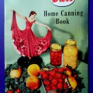 Vintage 1953 Kerr Home Canning Booklet James Jellies Preserving