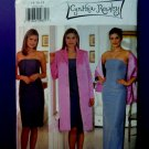 Butterick Pattern # 6076 UNCUT Misses Special Occasion Dress Long Short Size 14 16 18